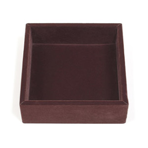 Small Open Velvet Tray
